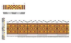 Pattern I designed for tablet weaving Inkle Weaving, Inkle Loom, Card Weaving, Tablet Weaving Patterns, Art Tablet, Iris Folding Pattern, Finger Weaving, Willow Weaving, Brick Stitch
