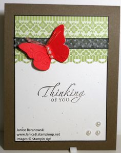 Butterfly Sympathy by stampingdietitian - Cards and Paper Crafts at Splitcoaststampers