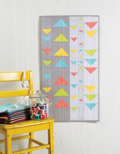 Nancy Zieman, Triangle Quilt Tutorials, Sewing With Nancy, Triangle Wall, Easy Quilts, Mini Quilts, Scrappy Quilts, Table Runner Pattern, Half Square Triangles