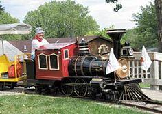 Prairie Thunder Railroad at the Hutchinson Zoo!