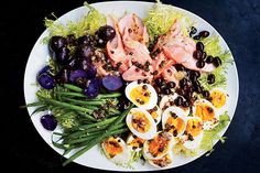 Find the recipe for Salmon Nicoise and other bean recipes at Epicurious.com