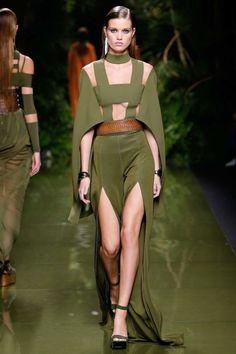 Balmain ready-to-wear spring/summer '17: