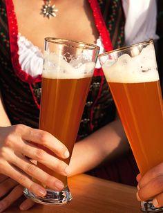 German Beer In Glasses
