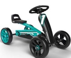 The Pedal Go Karts have proven to be the best toys for almost every kid. This is mainly because these cars are very safe, portable and ergonomic as well. Go Karts For Kids, Pedal Cars, Batmobile, Tricycle, Trampolines, Kara, Cool Toys, Baby Car, Things To Come