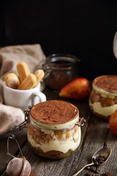Tiramisu, Home Canning, Sweet Desserts, Baking Recipes, Panna Cotta, Cheesecake, Food And Drink, Meals, Cooking
