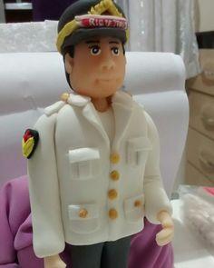 Noivo militar biscuit