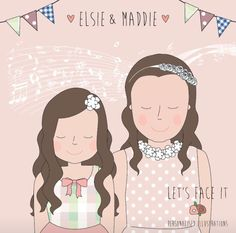 Sisters xxx Sisters, Family Guy, Let It Be, Wedding Ideas, Guys, Face, Illustration, Anime, Fictional Characters
