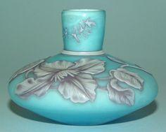 Fine Antique English Stourbridge Thomas Webb Cameo Carved Perfume Scent Bottle | eBay