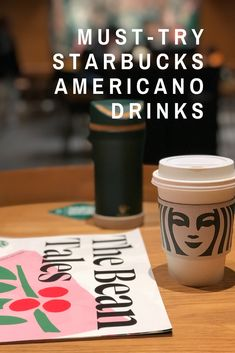Did you try an Americano from Starbucks and now are looking for more? Perhaps you want to broaden your coffee horizons and try something new. Here is what you need to know about the coffee and a list of all the Americano drinks at Starbucks. An Americano is a means of drinking espresso without any of the strength of a straight shot. #coffee Coffee Cream, Coffee Type, Black Coffee, Hazelnut Coffee Recipe, Cinnamon Dolce Syrup, Types Of Coffee Beans, Starbucks Vanilla, Orange Syrup, Espresso Drinks