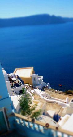 Caldera houses, Santorini, Greece