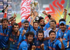 The World Cup win was for Sachin Tendulkar, an emotional Gautam Gambhir said after the historic victory in World Cup finals against Sri Lanka.