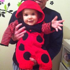Ladybug costume:)