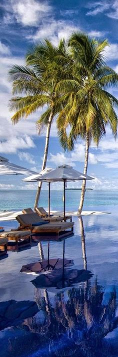 Rangali Island is in the Alif Dhaal Atoll, Maldives. It is the setting for the Conrad Maldives Rangali Island Resort which has twice been voted the best hotel in the world. To me it is Paradise.