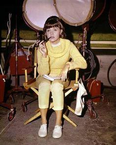 "Sally Field on the set ""Gidget"""