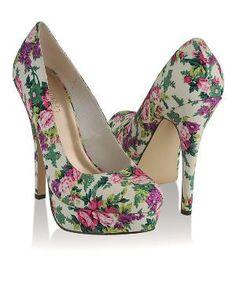 spring chintz heels