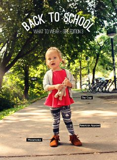 Back To School : what to wear girl edition 3