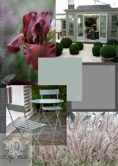 The Paper Mulberry: First impressions - exterior paint shades