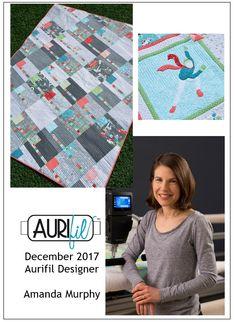 Aurifil 2017 December Designer of the Month Amanda Murphy   AURIbuzz