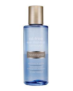 "Neutrogena Oil-Free Eye Makeup Remover, $6: ""Won't leave any gunk behind.""    - ELLE.com"