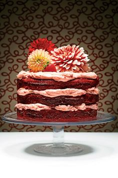 Luscious Layer Cakes: The Red Velvet Cake