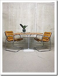 Eetkamer stoelen mid century design Italian vintage design dinner chairs