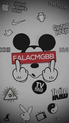 Mickey can fuck you. Simpson Wallpaper Iphone, Black Phone Wallpaper, Iphone Background Wallpaper, Wallpaper Iphone Disney, Screen Wallpaper, Mobile Wallpaper, Mickey Mouse Art, Mickey Mouse Wallpaper, Rick And Morty Poster