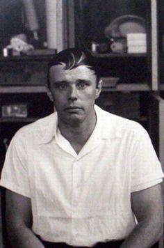 Joseph Beuys (1921-1986), 1961 - deutscher Aktionskünstler, Bildhauer, Zeichner, Kunsttheoretiker und Professor an der Kunstakademie Düsseldorf.