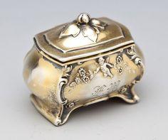 Simons Bros. Sterling Silver Ring Holder