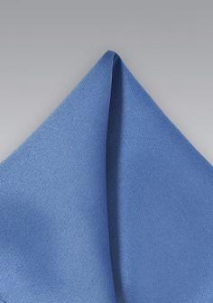 Kavaliertuch leichtblau Kunstfaser
