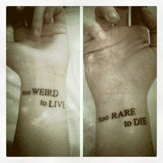 unique Friend Tattoos - Hot quote tattoo for girls Check more at http://tattooviral.com/friend-tattoos/friend-tattoos-hot-quote-tattoo-for-girls-2/
