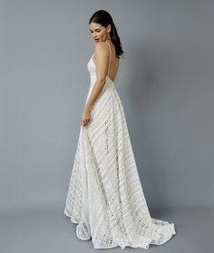 Pretty Boho inspired lace wedding dress, annaschimmel.co.nz, NZ