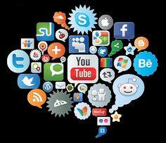 Médias sociaux: la carte interactive 2015 Com & Pub | 26 mai 2015