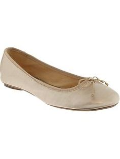 Women's Bow-Tie Ballet Flats | Old Navy I own these.  Cute.