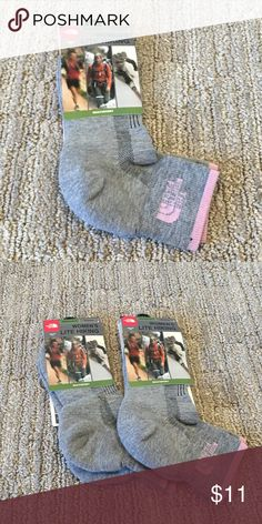 Brand new North Face Women's Lite Hiking socks Brand new North Face Women's Lite Hiking Multisport socks. Up to 2 pairs available for purchase of this sock. Also have multiples of 2 other types of brand new North face socks available. Flexible with pricing for mixing and matching types. Comment on the listing if interested and check out the other 2 listings! North Face Accessories Hosiery & Socks