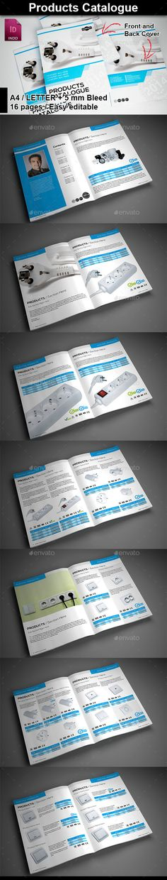 #Product Catalog - Catalogs #Brochures Download here: https://graphicriver.net/item/product-catalog/9642362?ref=alena994