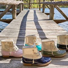 Jack Rogers Chloe Duck Boot from Cousin Couture.