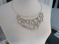 Necklace / pendant - laser cut wood -