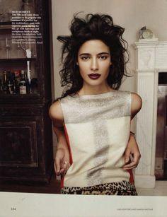 Vogue India -Jessica Clark