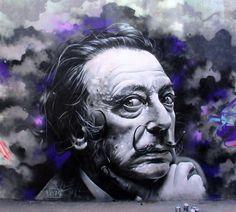 Salvador Dalí by XAV