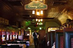 Report Claims LA's Iconic Pacific Dining Car Plans to Reopen Eventually - Eater LA Frozen Steak, Dry Aged Beef, Website Sign Up, La Eats, Living In La, Antique Lamps, Santa Monica, How To Plan, Fine Dining