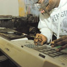 MF DOOM at work.