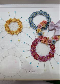10 Things I've Learned From Hanging Out With Candace Kling, Ribbon Worker Extraordinaire – See How We Sew Ribbon Flower Tutorial, Ribbon Embroidery Tutorial, Fabric Embellishment, Silk Ribbon Embroidery, Bow Tutorial, Embroidery Art, Ribbon Art, Ribbon Hair Bows, Ribbon Crafts