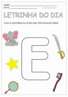 2 - Atividades para Educação Infantil 4 anos Abc Phonics, Doodle Coloring, Preschool Worksheets, Home Schooling, After School, Toddler Activities, Kids And Parenting, Professor, Letters