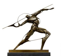 """""""Warrior with Spear"""" by Umberto Boccioni."""