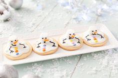 Melting Snowmen Cookies - ILoveCooking