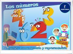 Los números para Educación Infantil (Junta de Castilla la Mancha)