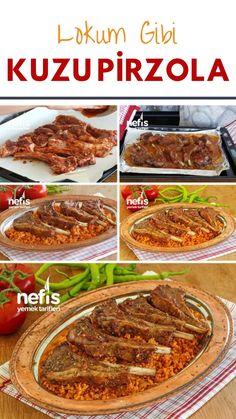 Lamb Chops Recipe Like Turkish Delight - Yummy Recipes Lamb Chop Recipes, Steak Recipes, Vegan Recipes, Cooking Recipes, Yummy Recipes, Turkish Restaurant, Seafood Bisque, Chops Recipe, Lamb Chops