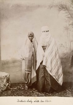 Turkish lady with her slave - National Maritime Museum