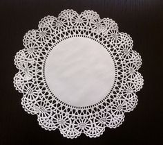 50 Cambridge Paper Lace Doilies 10 FREE SHIPPING by MinasPantry