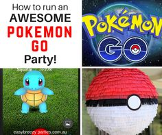 "How to run your own awesome Pokemon Go party. Lots of game ideas, and you don't need the phone app for any of them! "" Read it: http://www.easybreezyparties.com.au/party-inspiration-and-ideas/item/141-how-to-run-an-awesome-pokemon-go-party.html #pokemongo #easybreezyparties"